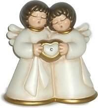Goebel Thun Engelpaar Mit Herz Casa - Engel