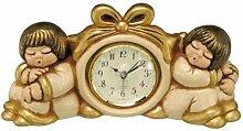 Goebel Thun Uhr - Engelpaar Mit Wecker Casa - Uhren