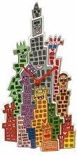 Goebel - Wanduhr The City That Never Sleeps-