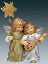 Goebel Weihnachtsengel Engelpaar mit Gitarre und