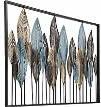 GoedYE® Metall Wandskulptur | Design Wanddeko XXL