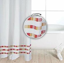 Gökyildiz Vonella - Textil Duschvorhang aus Stoff