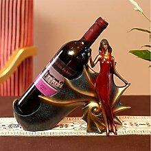 Göttin Form Weinflaschenhalter stilvolle
