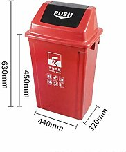 GOG Kunststoff Mülleimer, Shuffle Cover,