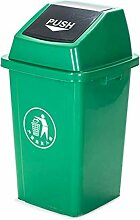 GOG Kunststoffbehälter kunststoff flip mülleimer