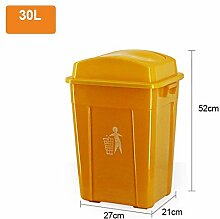 GOG Kunststoffbehälter Kunststoff-Mülleimer im