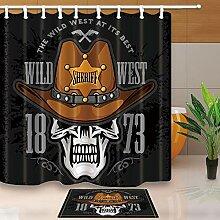 gohebe Wild Western Decor Cowboy Skull in die