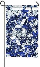 GOIIFLY Garten-Flaggen, dekorativ, Blau,