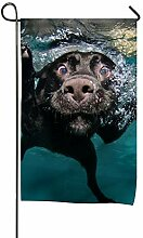 GOIIFLY Unterwasser-Polyester-Garten-Flagge,