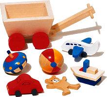 Goki 7-teilige Puppenhaus-Accessoires Kinderzimmer