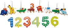 Goki Geburtstagskarawane mit Zahlen