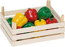 Goki Holzkiste mit Paprikaschoten [Kinderspielzeug]