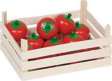 Goki Holzkiste mit Tomaten [Kinderspielzeug]