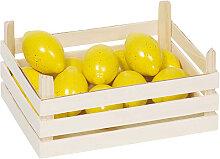 Goki Holzkiste mit Zitronen [Kinderspielzeug]