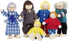 Goki Puppenhaus-Puppen City-Familie [Kinderspielzeug]
