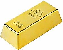 Gold Bar Edelstahldraht Türstopper/Briefbeschwerer