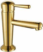 Gold Design Waschbecken Einhebel Armatur Sanlingo