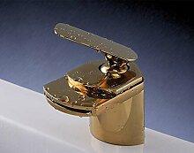 Gold Edition: Designer Armatur | Wasserfall