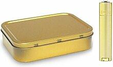 Gold Farbige Clipper Metall Geschenk leichter und
