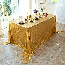 Gold Glitter Tischdecke, Weihnachten Tischdecke,