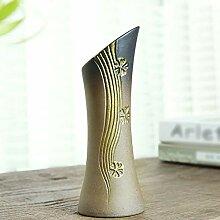Gold Keramik Vase Kreative Steingut Heimtextilien