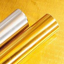 Gold-Kontaktpapier, Metallic Gold Selbstklebende