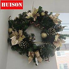 Gold Kranz Weihnachten Dekoration für Weihnachten