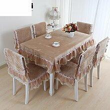 Gold Samt,Europäisch,Tischdecke,Stoffe/Tabelle Tuch,Tischdecke,Tee Tischdecke-F Durchmesser150cm(59inch)