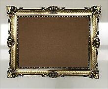 Gold-Schwarz Dualcolor 90x70 mit Glas