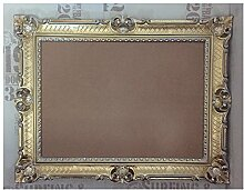 Gold-Silber Dualcolor 90x70 mit Glas