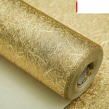 gold-Silber-Folie Tapete Gold gebürstet Silber