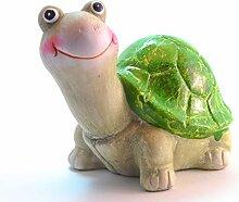 Goldbach Schildkröte Hanni Keramik Deko Garten