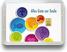 Goldbarren - Goldgeschenk Motivbox - 999.9