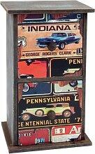 Goldbuch 001218 Fotobox Pontiac, aus Holz mit zwei