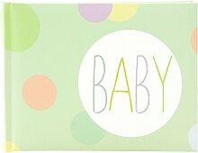 Goldbuch Baby-Fotoalbum, Baby Dots, 22 x 16 cm, 36