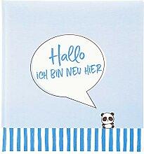 Goldbuch Baby-Fotoalbum, Ich Bin neu Hier, 30x31