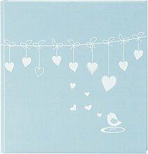 Goldbuch Baby-Fotoalbum, Poetry Blue, 30 x 31 cm,