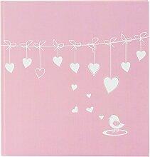 Goldbuch Baby-Fotoalbum, Poetry Pink, 30 x 31 cm,