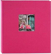 Goldbuch Fotoalbum mit Fensterausschnitt, Bella
