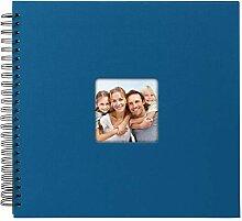 Goldbuch Spiralalbum Living Blue, Erinnerungsalbum