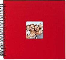 Goldbuch Spiralalbum Living Red, Erinnerungsalbum