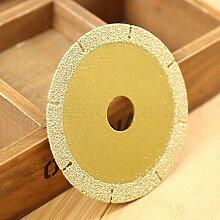 Golden 10,2cm 100mm Diamant beschichtete Glas