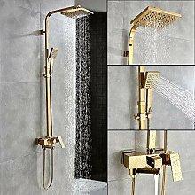 Golden Bath Duschmischer 8inch Rainfall Shower