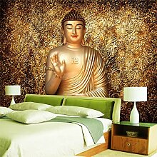 Golden Buddha Fototapete Buddhist Temple