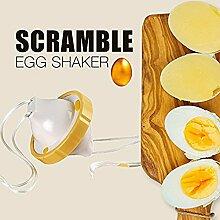 Golden Ei Maker, Creative Eigelb Weiß Mixer Hand