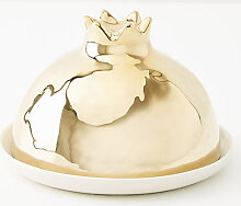 Golden Pomegranate Butterdose - Gold