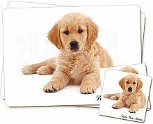 Golden Retriever 'Love You Mum' Zwillings