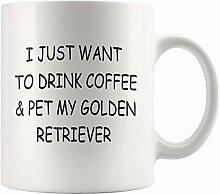 Golden Retriever Becher