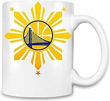 Golden State Warriors Filipino Flag Kaffee Becher