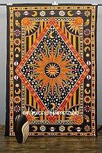 Golden Sun Black Star Motiv exotische Celestial